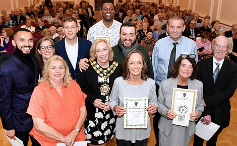 Richmond in Bloom - Hampton Wick award winners