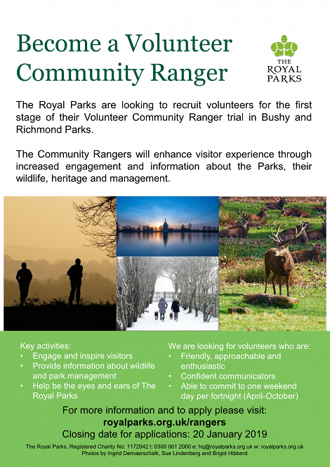 Become a Volunteer Community Ranger
