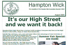 We want our High Street back!