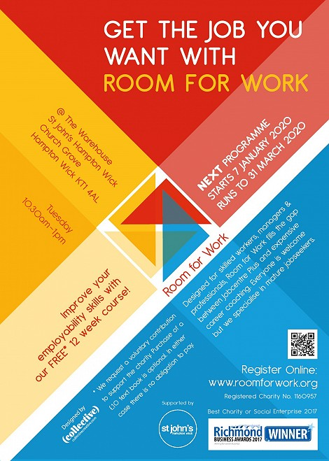 Room for Work starts 7th January