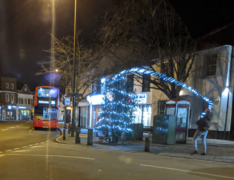HWA brings Christmas to Hampton Wick – Harry Potter style!