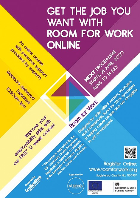 Room for Work has moved online