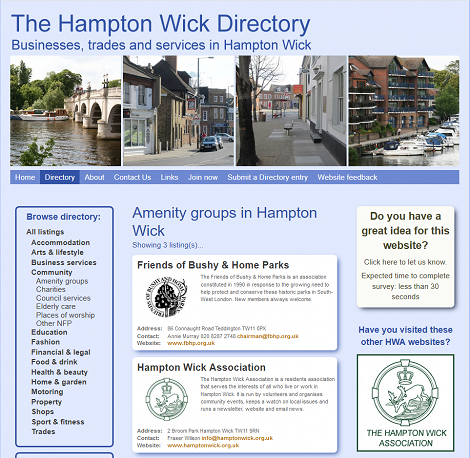 Hampton Wick Business Champion needed