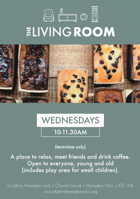 The Living Room - new cafe opens at St John's