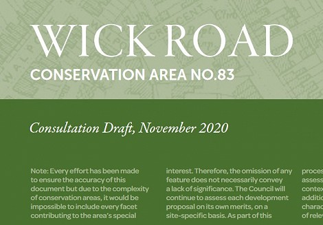 Draft Conservation Area Appraisal and Management Plans